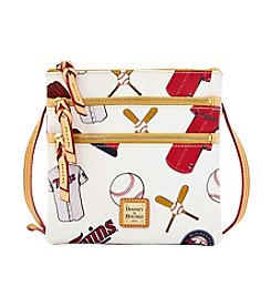 Dooney & Bourke® MLB Minnesota Twins Triple Zip Crossbody