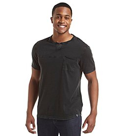 DKNY JEANS® Men's Short Sleeve Slub Feeder Tee