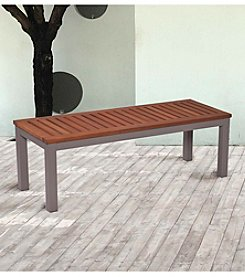 Southern Enterprises Pika Outdoor Backless Bench