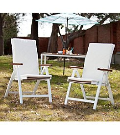 Southern Enterprises Pika 2-pc. Outdoor Position Chairs