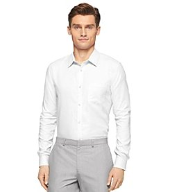 Calvin Klein Men's Long Sleeve 2-Tone Cool Tech Shirt