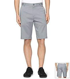 Calvin Klein Men's Flat Front Core Shorts