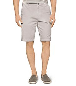 Calvin Klein Men's Chino Walking Flat Front Shorts