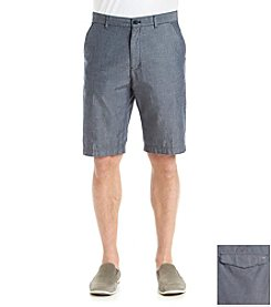 Calvin Klein Men's Textured Flat Front Short