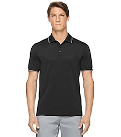 Calvin Klein Men's Short Sleeve Pique Polo