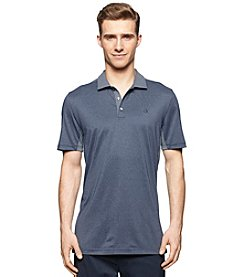 Calvin Klein Men's Short Sleeve Grindle Feeder Stripe Polo