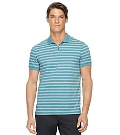 Calvin Klein Men's Short Sleeve Jersey Polo