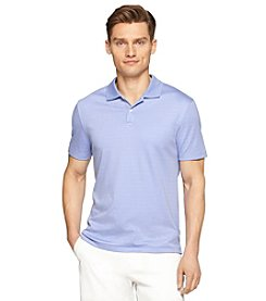 Calvin Klein Men's Short Sleeve Liquid Stripe Polo
