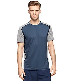 Calvin Klein Performance Men's Short Sleeve Mesh Color Block Tee