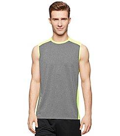 Calvin Klein Performance Men's Sleeveless Core Reflective Color Block Muscle Tee
