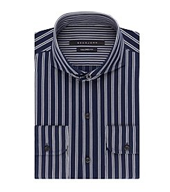Sean John Men's Regular Stripe Button Down Dress Shirt