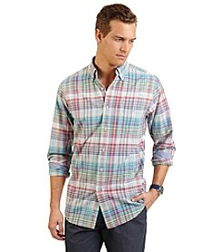 Nautica® Men's Slim Fit Medium Plaid Shirt