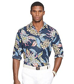 Polo Ralph Lauren® Men's Long Sleeve Tropic Print Shirt