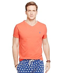 Polo Ralph Lauren® Men's Short Sleeve Medium Fit V-Neck Tee