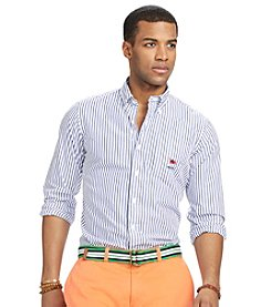 Polo Ralph Lauren Men's Long Sleeve Stripe Buttondown