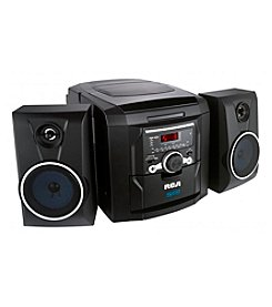 RCA® 5 Disc CD Audio System with Radio