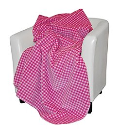 Denali® Gingham Reversible Acrylic Blanket Throw