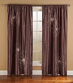 Bedford Manor Cheryl Rod Pocket Lined Window Curtain