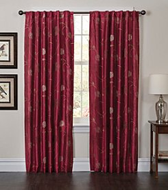 Bedford Manor Melanie Back Tab Lined Window Curtain
