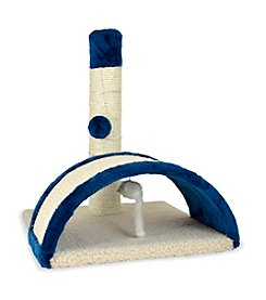 Pet Zone® Beam & Bow Scratching Square Cat Toy
