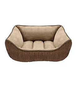 Soft Touch Luma Jacquard Rectangular Cuddler Pet Bed