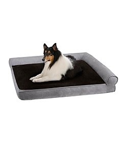 Soft Touch Duke Right Angle Bolster Pet Lounger