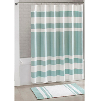 spa waffle shower curtain bath