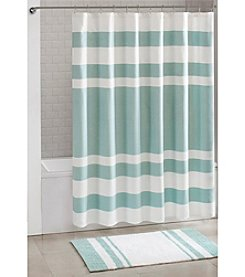 Madison Park™ Spa Waffle Shower Curtain or Bath Rug