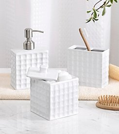 Madison Park™ Waffle 3-pc. Bath Accessory Set