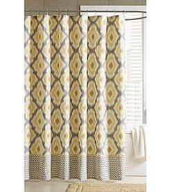 INK+IVY Ankara Shower Curtain