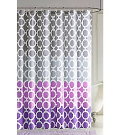 90° by Design Lab Dani Shower Curtain with Hook Set