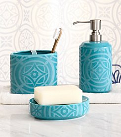 Design Lab Medallion 3-pc. Bath Accessory Set