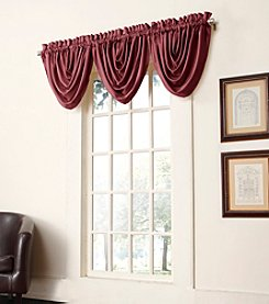 Sun Zero™ Antique Satin Waterfall Valance