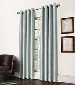 Sun Zero™ Antique Satin Grommet Room Darkening Window Curtain