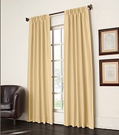 Sun Zero™ Antique Satin Pinch Pleat Room Darkening Window Curtain