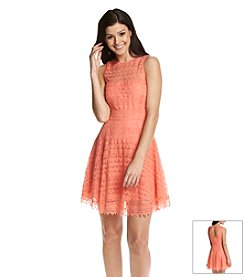 BB Dakota® Scalloped Lace Dress