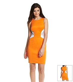 XOXO® Mesh Scuba Dress