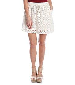 Lucky Brand® Eyelet Skirt