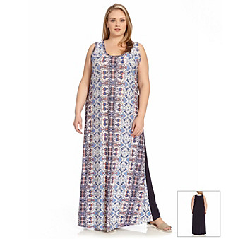 Younkers Plus Size Maxi Dresses 103
