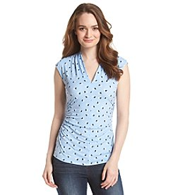 Vince Camuto® Ruched Side Top