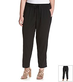 Jessica Simpson Plus Size Beckley Jogger Pants