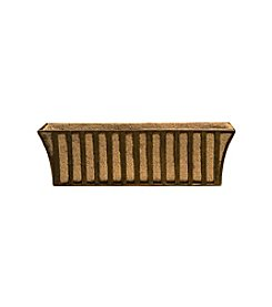 Deer Park Ironworks® Solera Metal Window Box with Coco Liner