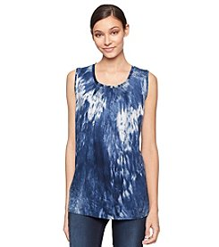 Calvin Klein Jeans® Printed Crew Neck Top