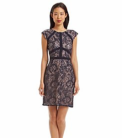 NW Collections Lace And Sequin Dress