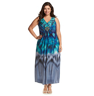 Younkers Plus Size Maxi Dresses 70