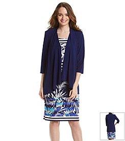 R&M Richards® Cascade Jacket Necklace Dress