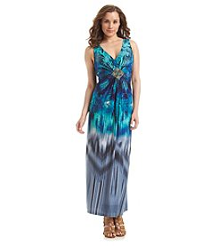 R&M Richards® Tie Dye Maxi Dress