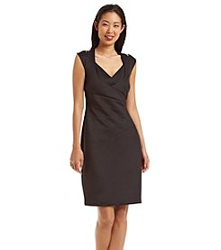 Connected® Seamed Scuba Dress