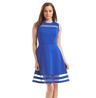 Upc 888738210003 Product Image For Calvin Klein Scuba Dress Upcitemdb