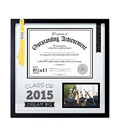 Malden 2015 Graduation Diploma, Tassel And Picture Frame